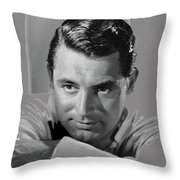 Cary Grant Glamor Portrait C. 1937-2015 Throw Pillow