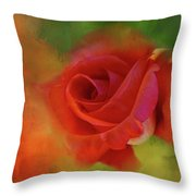 Cary Grant Rose Throw Pillow