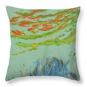 Carysfort Reef Throw Pillow