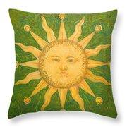 Casa Del Sol Throw Pillow