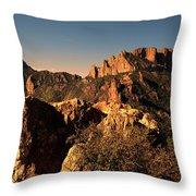 Casa Grande Peak 3 Throw Pillow