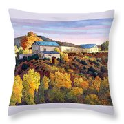 Casa Vieja De Chimayo Throw Pillow
