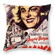 Casablanca B Throw Pillow