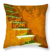 Casablanca Stairway Throw Pillow
