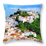 Casares From Laura's View Throw Pillow