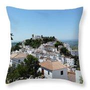 Casares Spain Throw Pillow