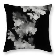 Cascade Of Shadows Throw Pillow