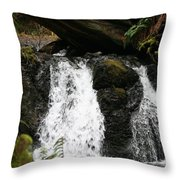 Cascade Waterfalls Wf1003 Throw Pillow