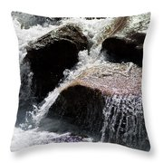 Cascading Waters Throw Pillow