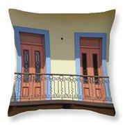 Casco Viejo Panama 11 Throw Pillow