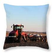 Case Ih Power Throw Pillow