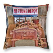 Case Tractor 1918-1929 Throw Pillow