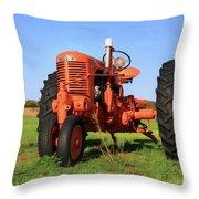 Case Tractor Throw Pillow