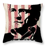 Cash Only Throw Pillow