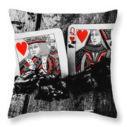 Casino Hot Streak  Throw Pillow