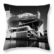 Casino Montreal Throw Pillow