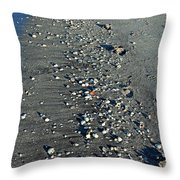 Caspersen Beach- Vertical Throw Pillow
