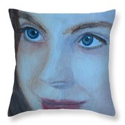 Cass Up Close Throw Pillow