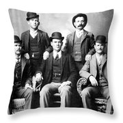 Cassidy And Longbaugh Throw Pillow
