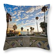 Cassidy Street Bridge Throw Pillow