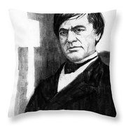 Cassius Clay Throw Pillow