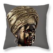 Cast In Character 2013 - Side View Transparent With Red Spotlight Throw Pillow