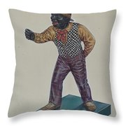 Cast Iron Hitching Post Throw Pillow