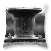 Cast Off Throw Pillow