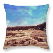 Castalia Quarry Reserve Dreamscape Throw Pillow