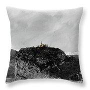 Castellane, France On The Route Napoleon Throw Pillow