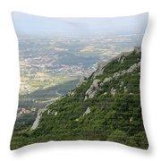 Castelo Dos Mouros Throw Pillow