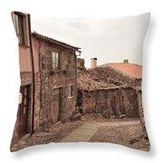 Castelo Rodrigo  Throw Pillow