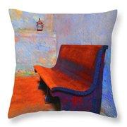 Castillo De San Marcos Bench Throw Pillow