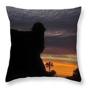 Castillo Evening Throw Pillow