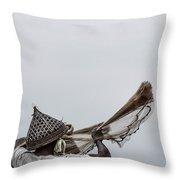 Casting A Net Throw Pillow