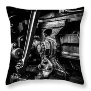 Detailed Grease Throw Pillow