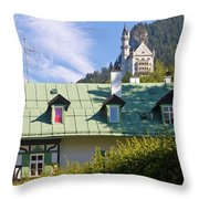 Castle 3 Throw Pillow