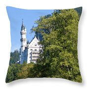 Castle 4 Throw Pillow