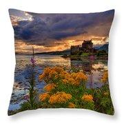 Castle Bliss Throw Pillow