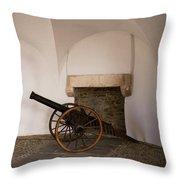 Castle Canon Throw Pillow