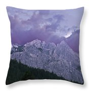 Castle Craggs Throw Pillow