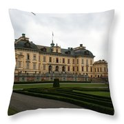 Castle Drottningholm  Throw Pillow