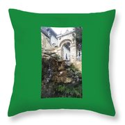 Castle Hideaway Throw Pillow
