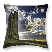 Victoria Tower Castle Hill Huddersfield 1 Throw Pillow