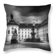 Castle Hill Throw Pillow