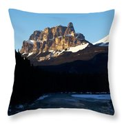 Castle In The Sky Throw Pillow