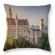 Castle In The Sun Throw Pillow