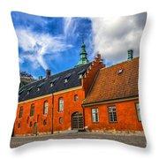 Castle Keep Throw Pillow