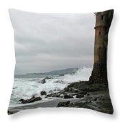 Castle Laguna Beach  Throw Pillow