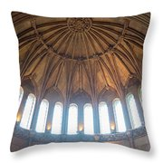 Castle Light Throw Pillow